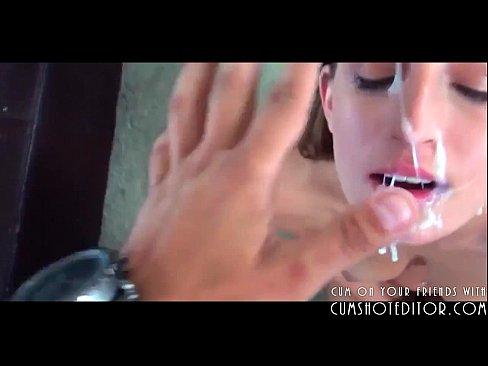 Novinha gostosa pedindo porra na boca para o namorado
