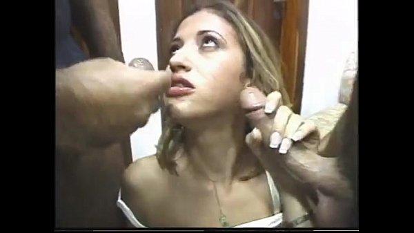 X porno loira com vadios