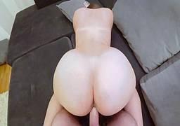 Pornozão com gata de bunda perfeita