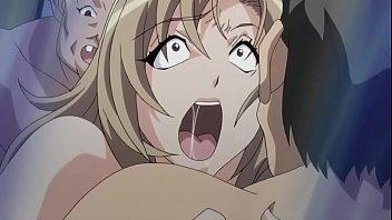 Anime jovem excitado vendo sua namorada novinha sendo violada